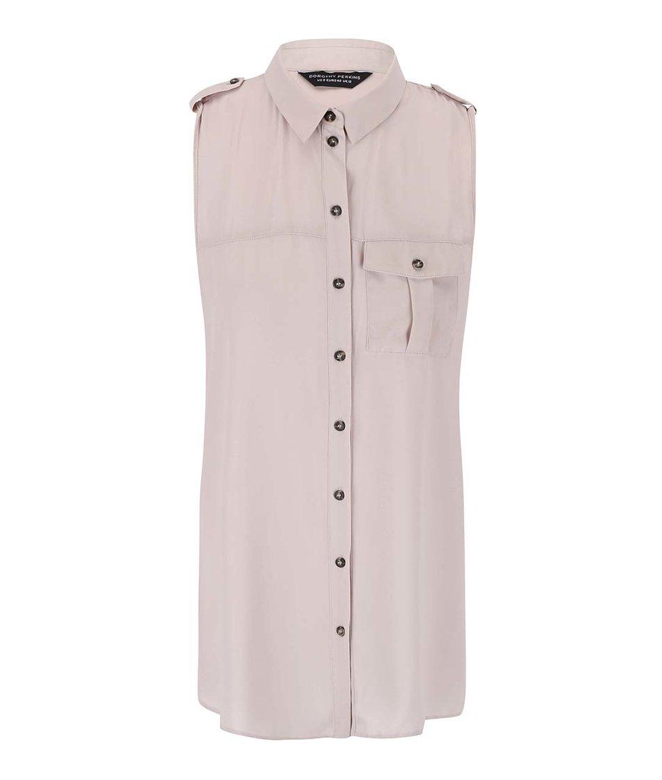 Tělová košile bez rukávů Dorothy Perkins