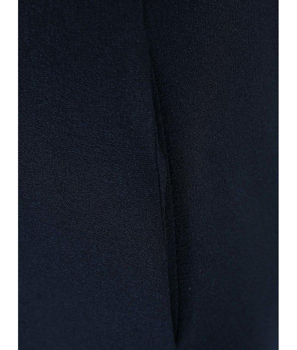 Tmavě modré volnější šaty s kapsami Closet