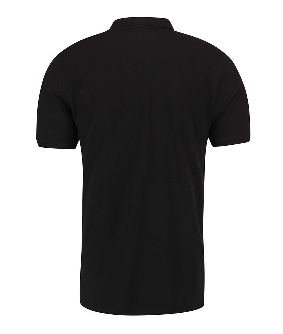 Černé polo triko ONLY & SONS Pique