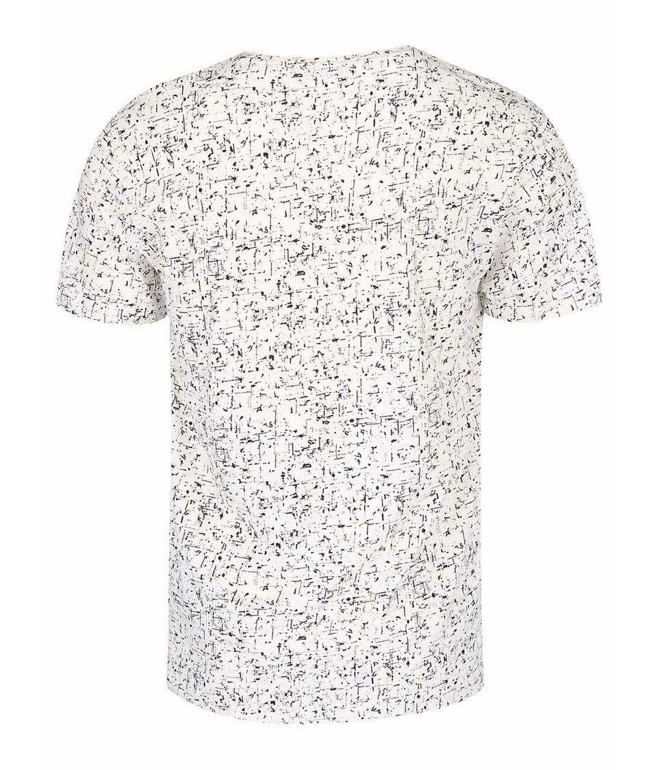 Krémové triko s potiskem ONLY & SONS Mick
