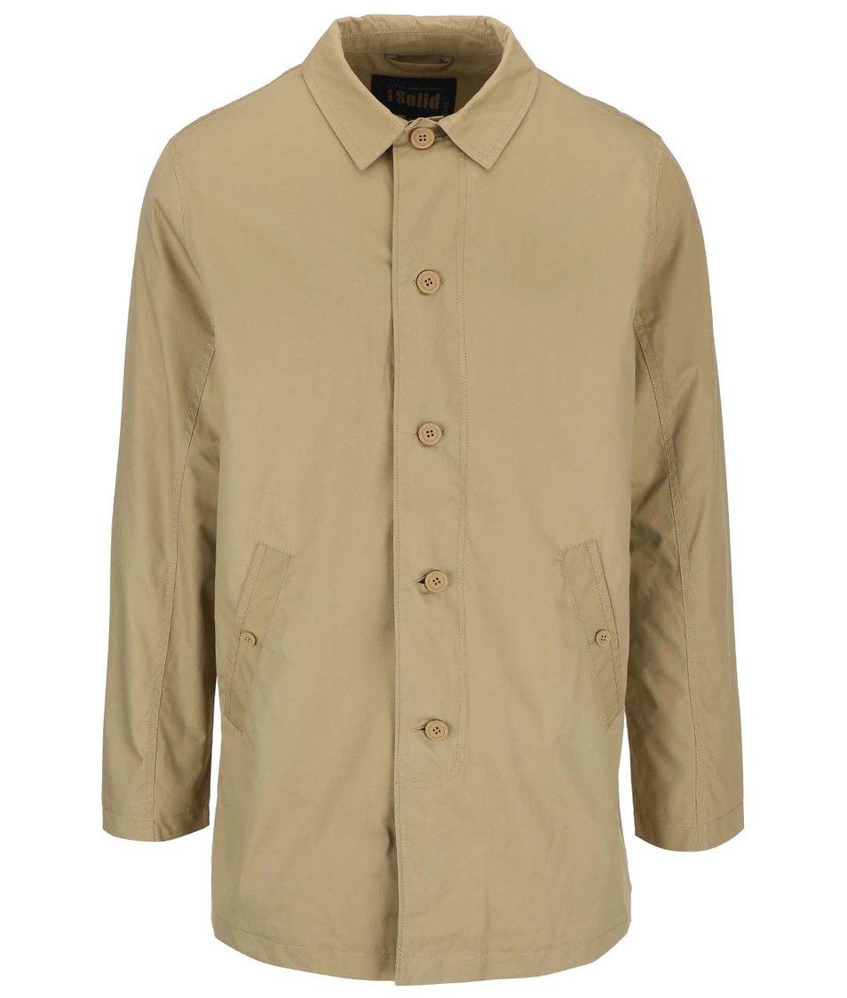 Béžový lehký kabát !Solid Alto