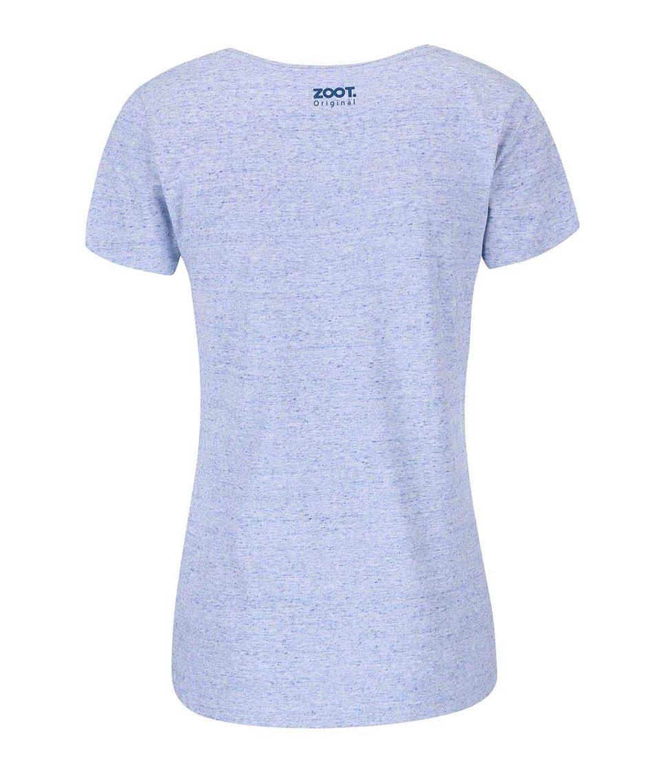 Světle modré dámské tričko ZOOT Originál Chtěla bych světový mír