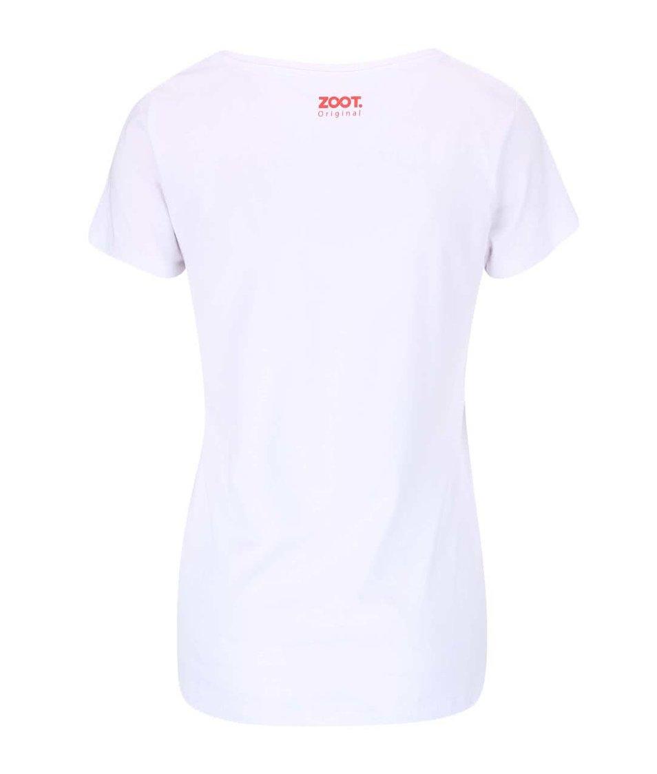 Bílé dámské tričko ZOOT Originál Dívka