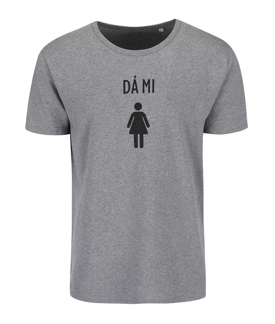 Šedé pánské triko ZOOT Originál Dá mi