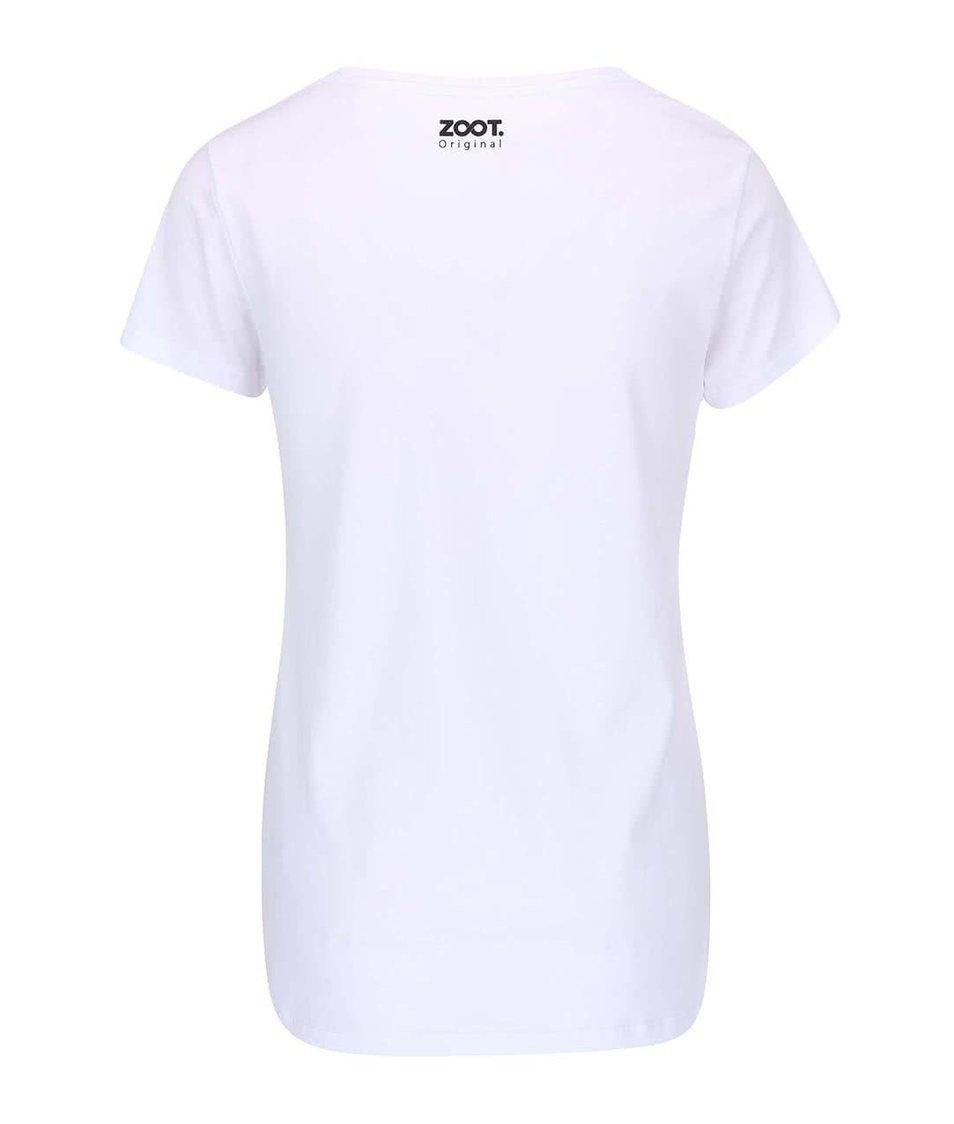Bílé dámské tričko ZOOT Originál Mascara