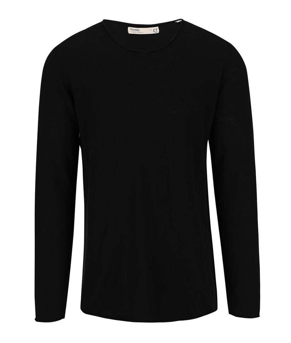 Černý svetr !Solid Baxley