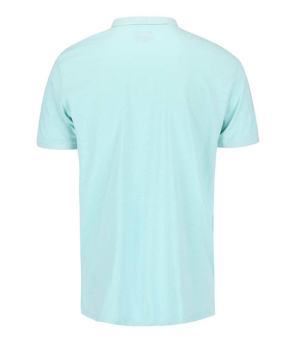 Mentolové polo triko !Solid Brand