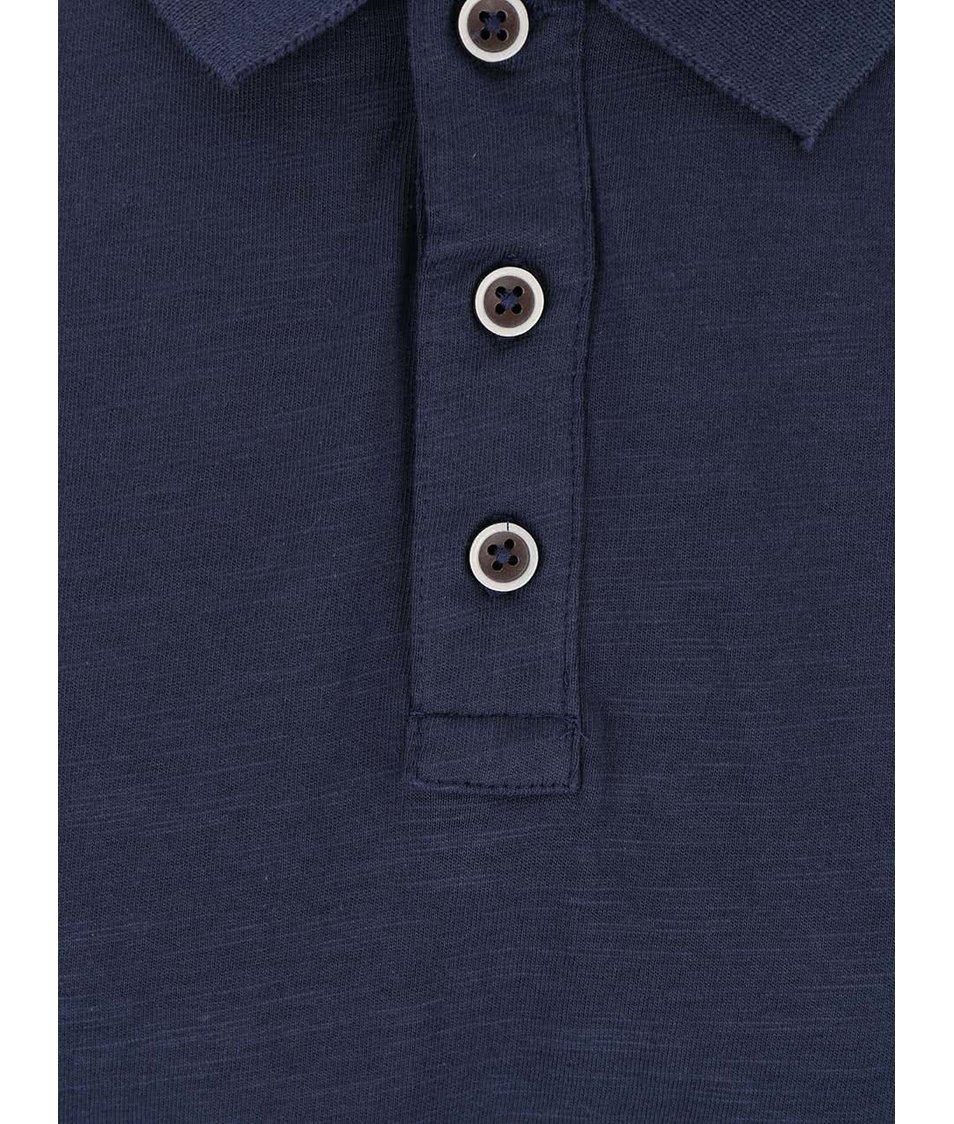 Tmavě modré polo triko !Solid Brand