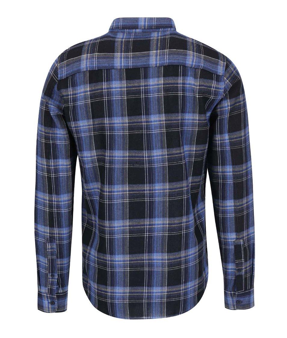 Tmavě modrá károvaná košile !Solid Berwin