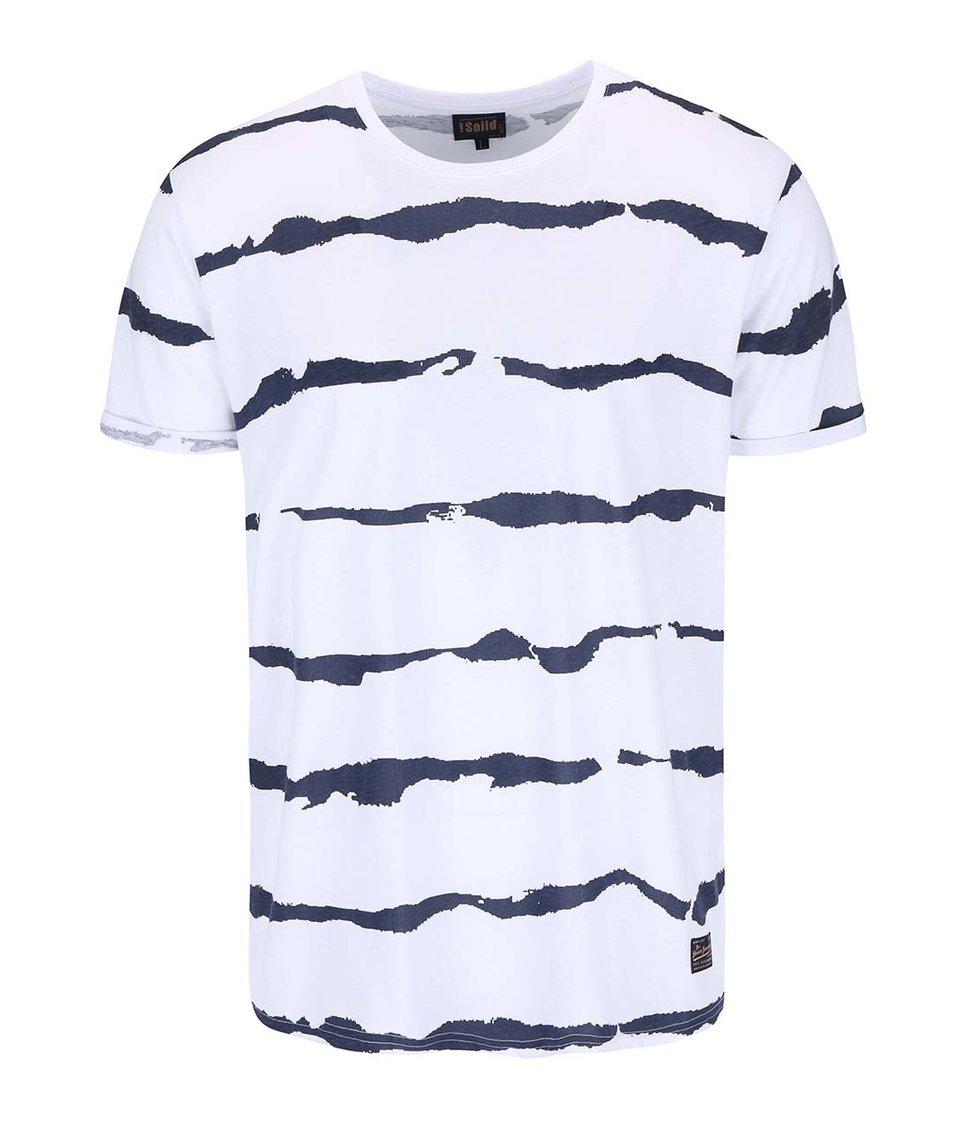 Bílé vzorované triko !Solid Bryatt