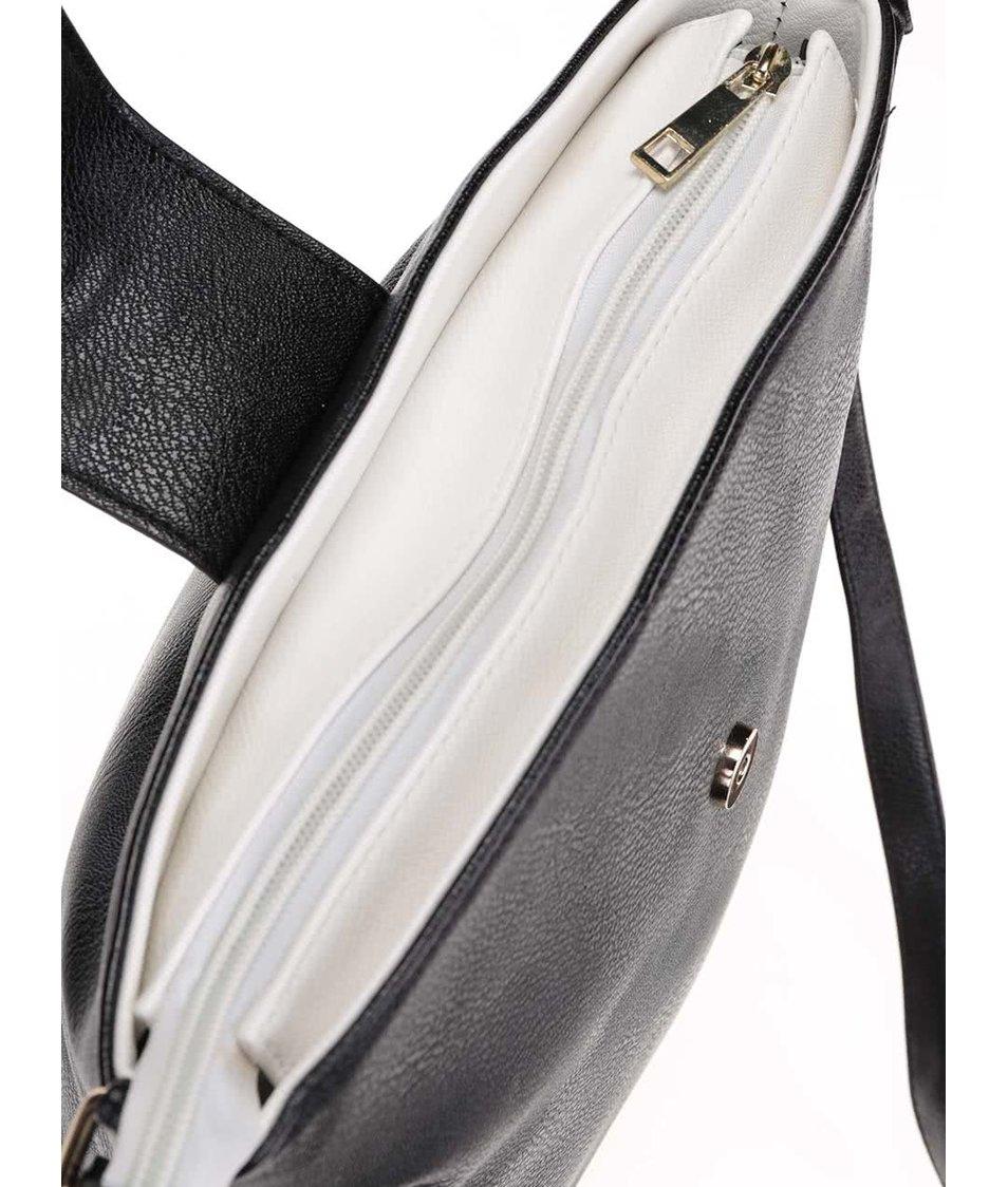 Bílo-černá kabelka Dorothy Perkins