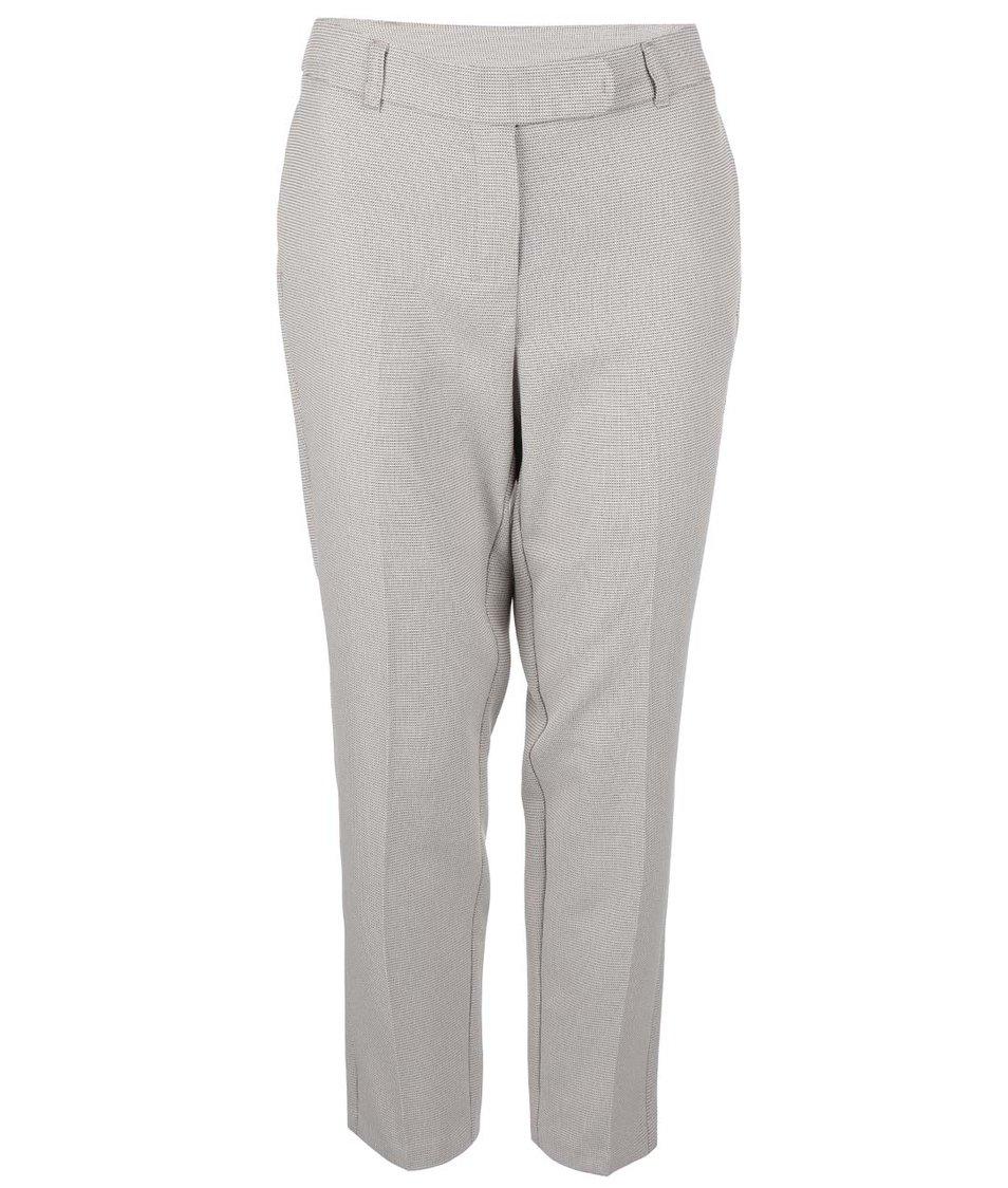 Béžové kalhoty s drobným vzorem Dorothy Perkins