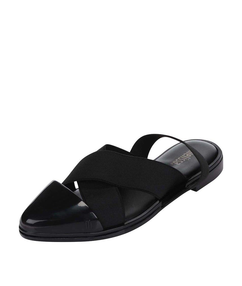 Černé sandálky Melissa Good Vibes