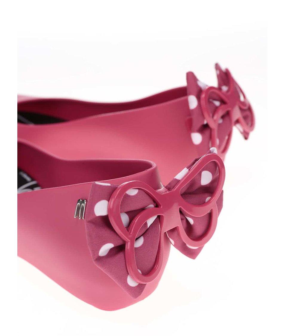 Růžové baleríny Melissa Ultragirl Minnie
