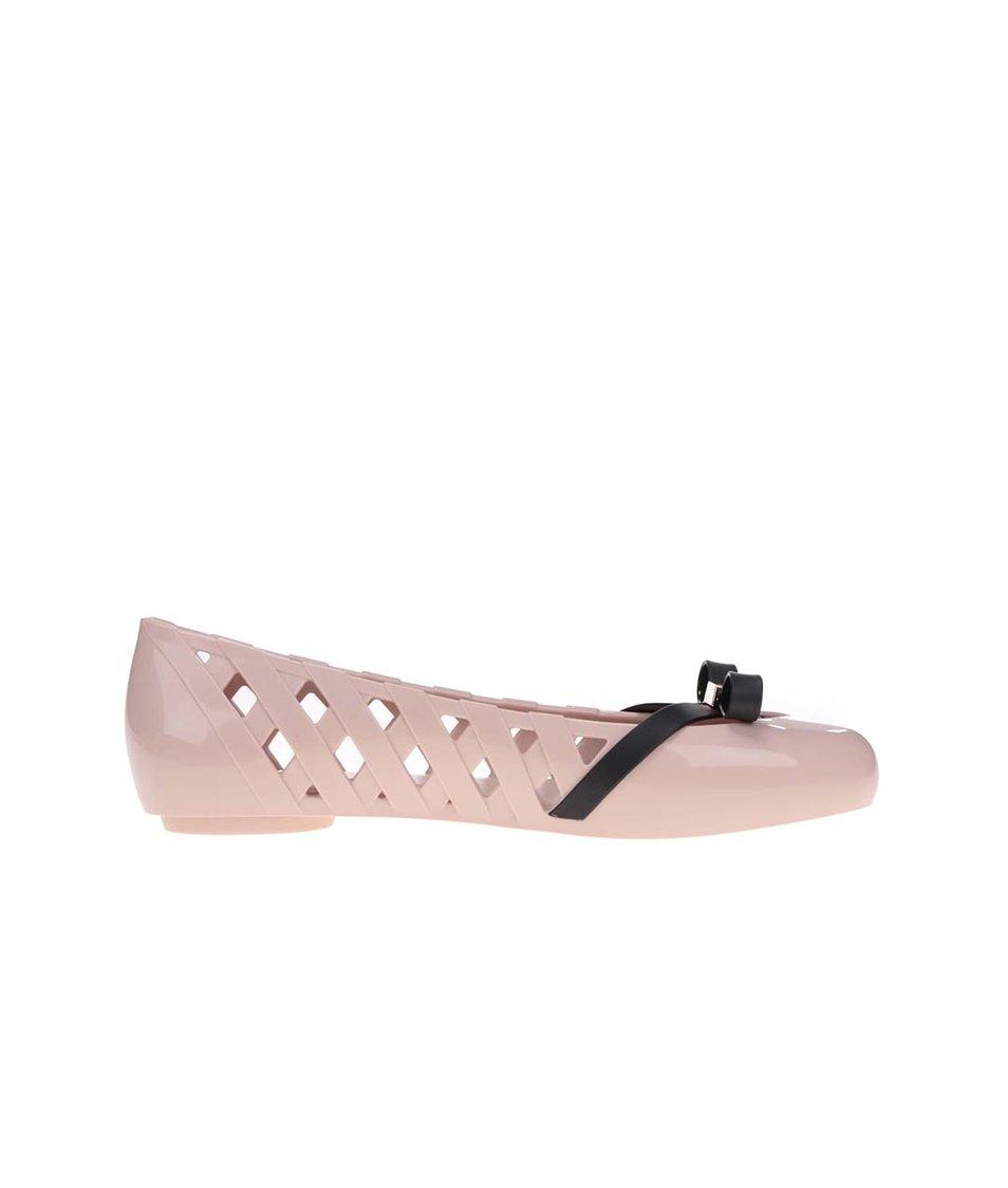 Světle růžové baleríny Melissa Praia