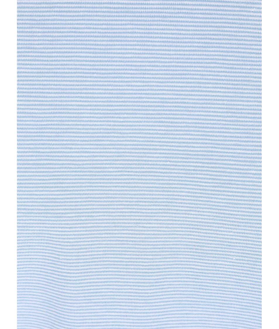 Světle modré pruhované triko Casual Friday by Blend