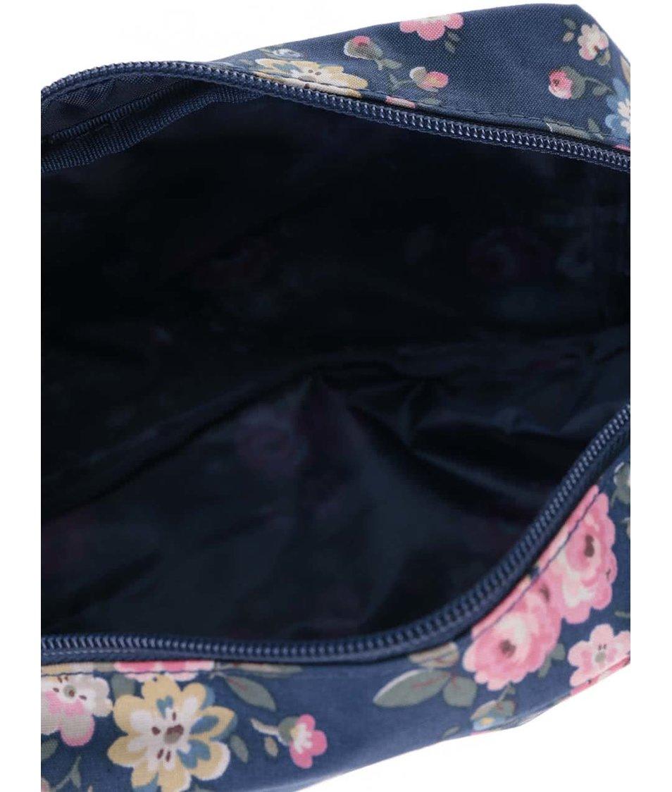 Modrá květovaná taštička na kosmetiku Cath Kidston