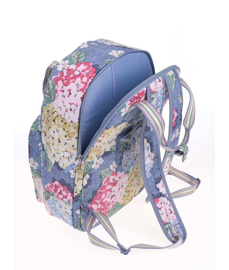 Modrý květovný batoh Cath Kidston