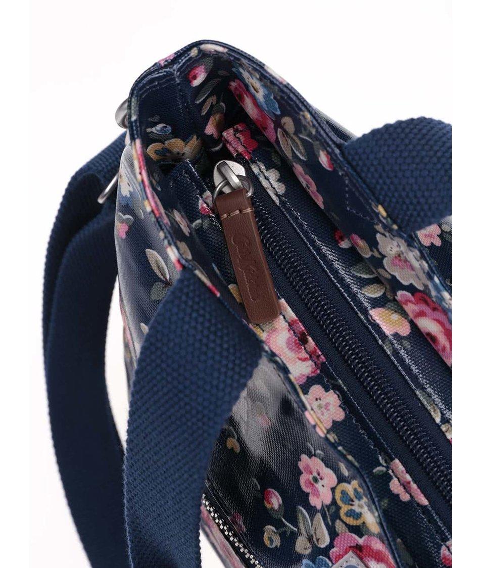 Tmavě modrá velká kabelka s květy Cath Kidston