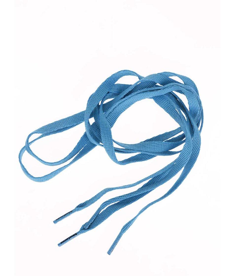 Světle modré tkaničky Tubelaces (120 cm)