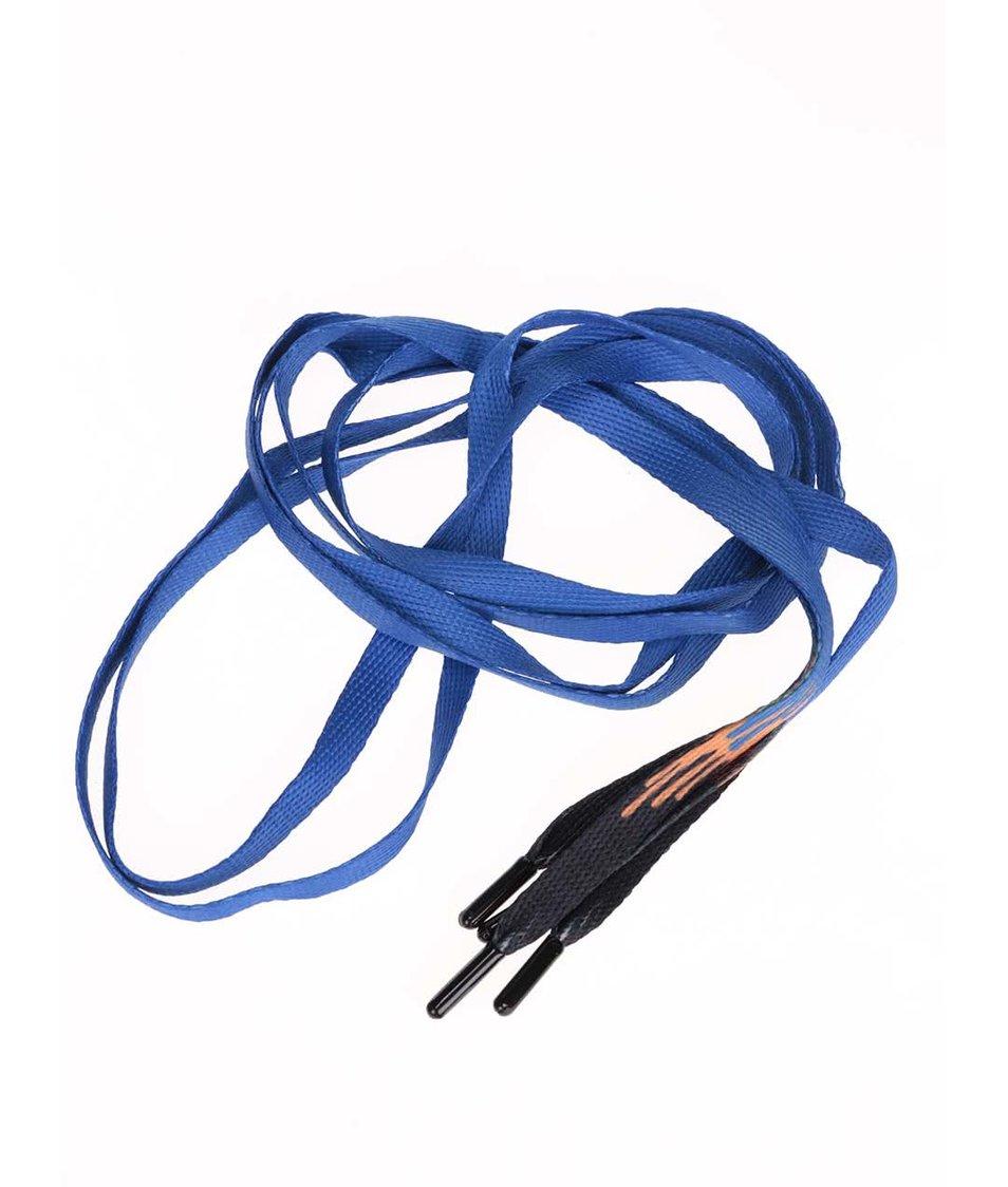 Modré tkaničky Tubelaces (130 cm)