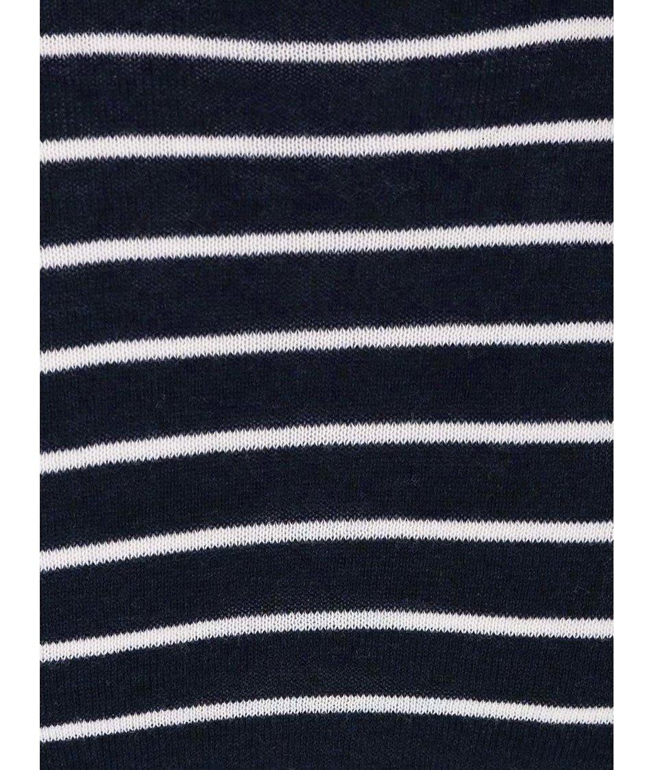 Tmavě modrý pruhovaný svetr Casual Friday by Blend