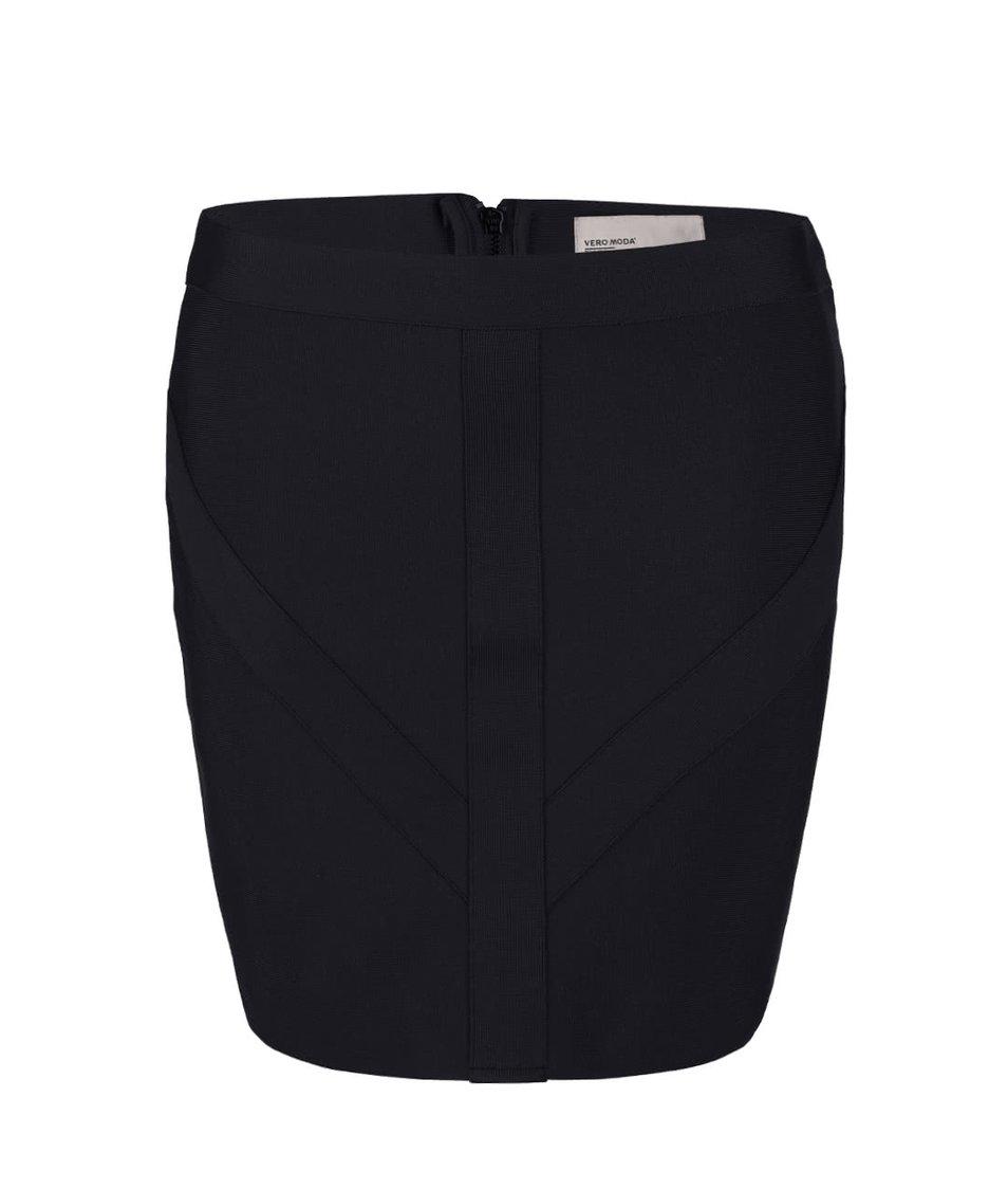 Černá minisukně Vero Moda Lucky