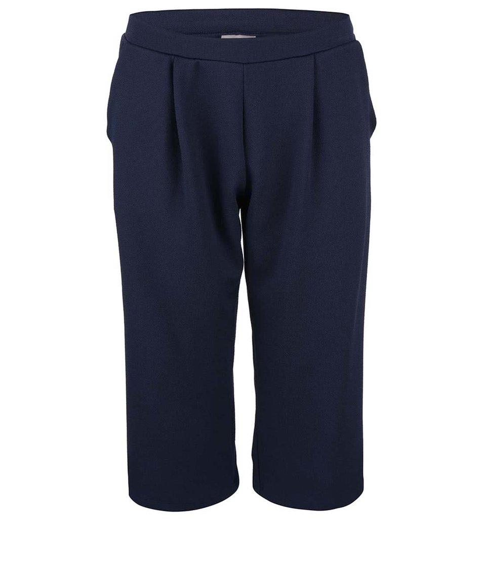 Tmavě modré culottes Vero Moda Edwar