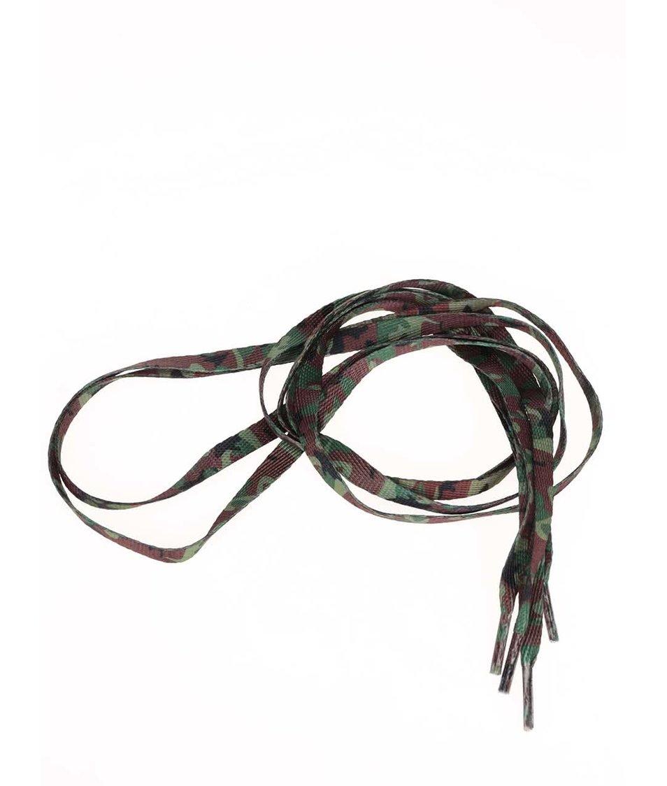 Maskáčové tkaničky Tubelaces (90 cm)