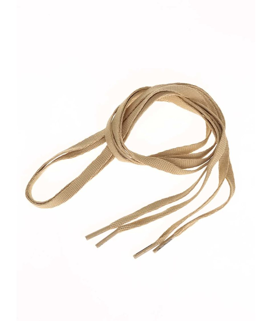 Okrové tkaničky Tubelaces (120 cm)