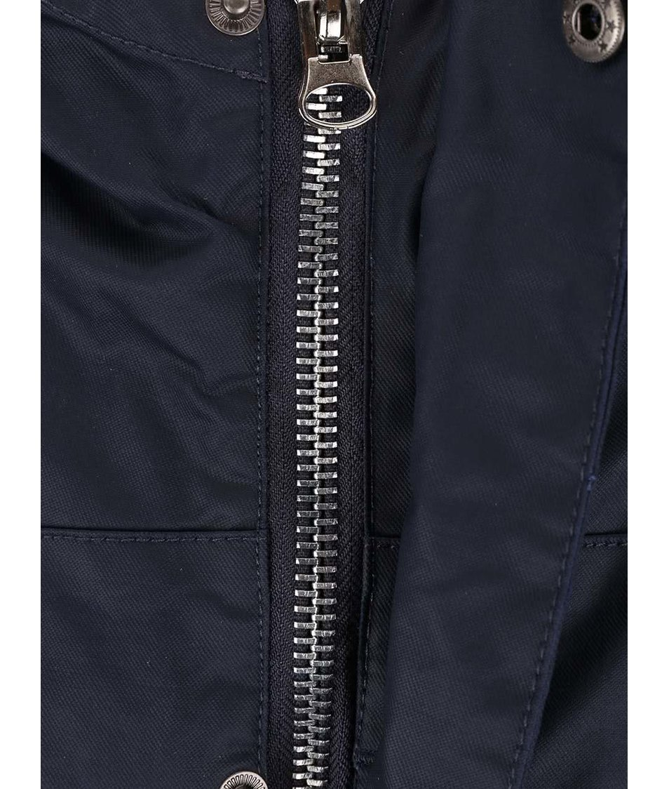 Tmavě modrá bunda s kapucí Bellfield Albany