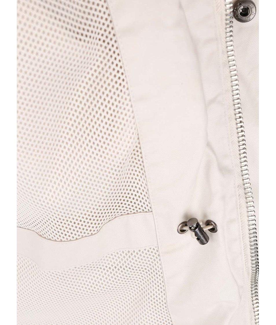 Krémová bunda s kapucí Bellfield Albany