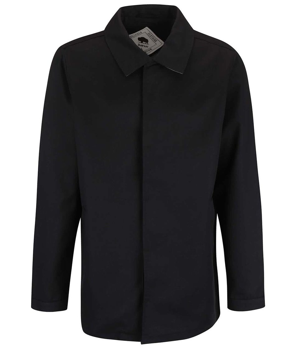 Černý pánský lehký kabát Bellfield Gota