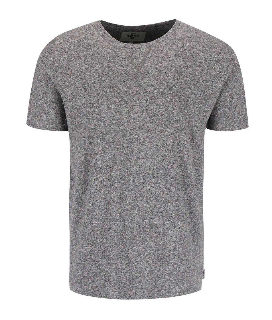 Šedé tričko s barevným žíháním Bellfield Merrywell