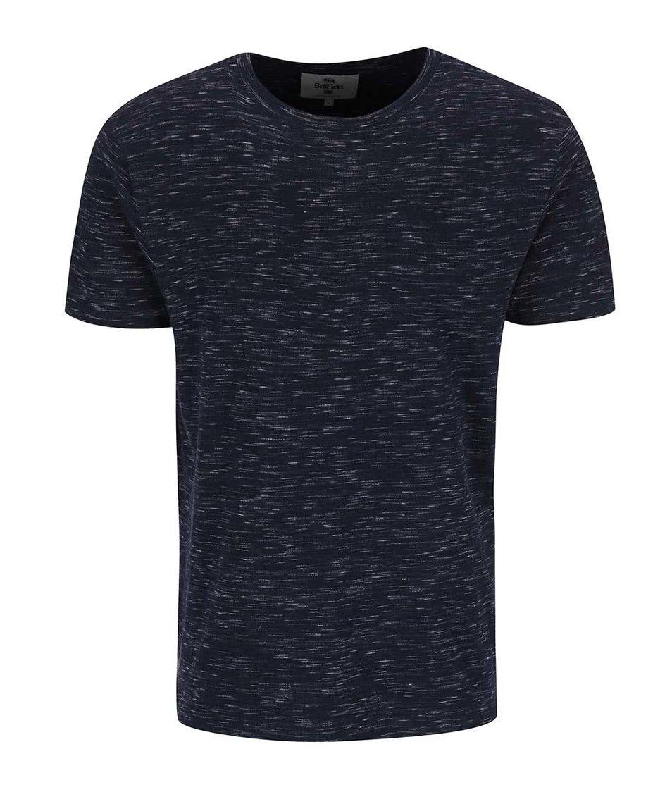 Šedo-modré žíhané triko Bellfield Parkgate