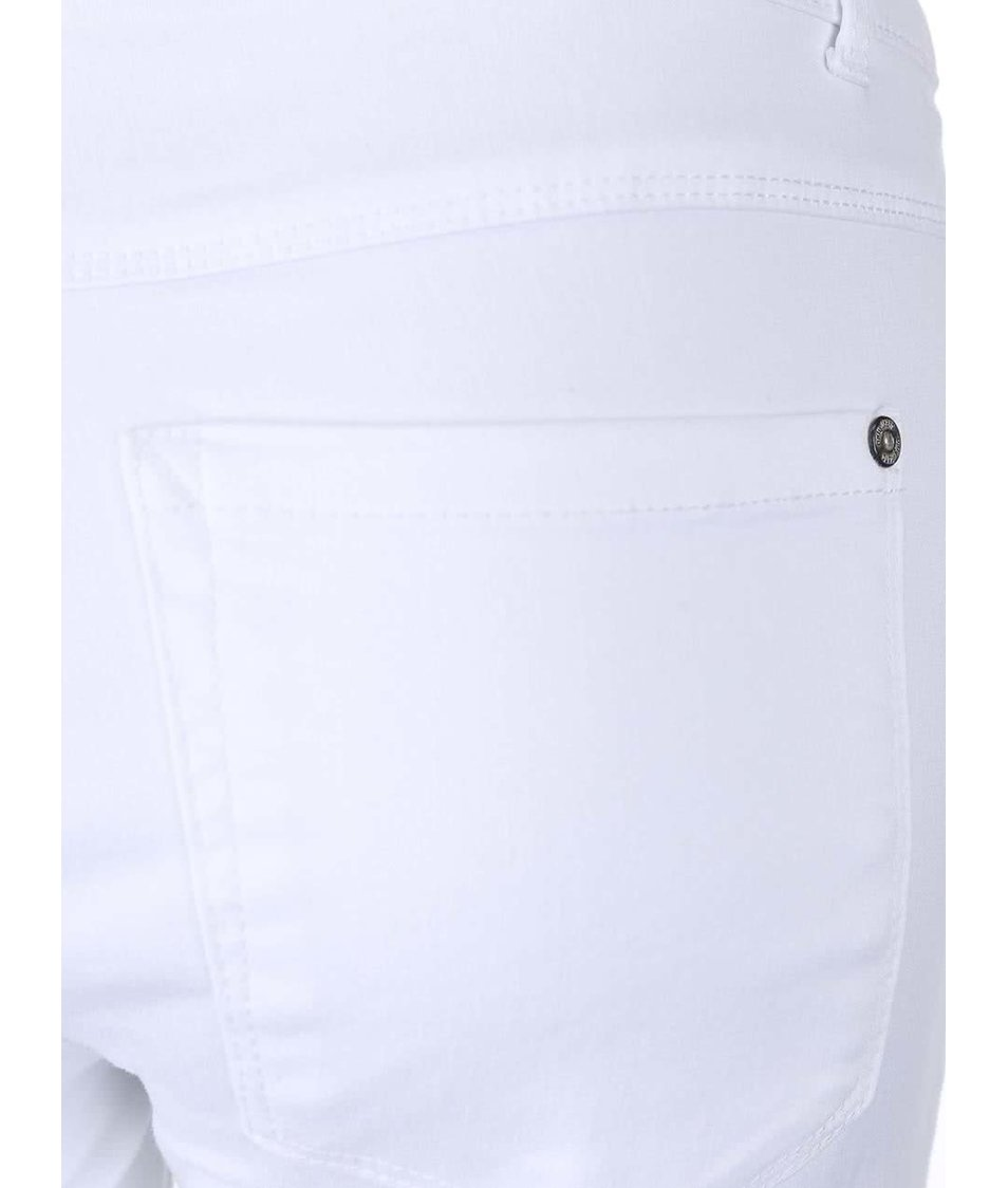 Bílé džíny s dírami na kolenou ONLY Royal