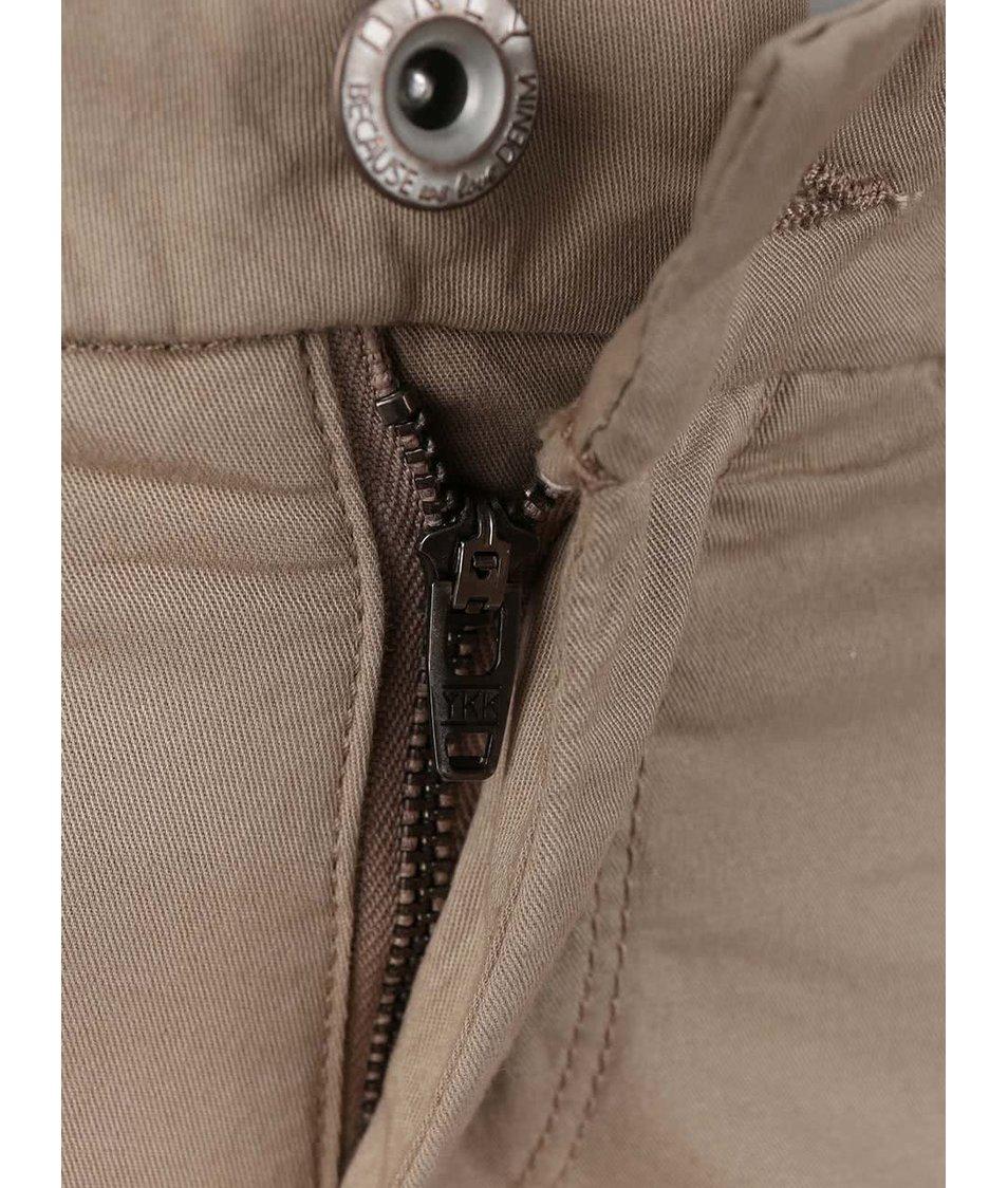 Béžové chino kalhoty ONLY Paris