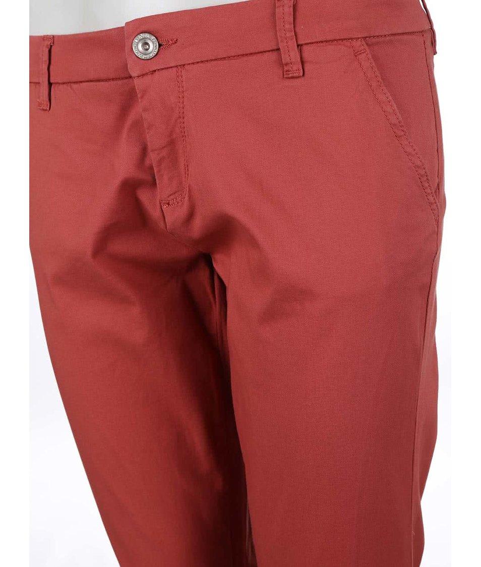 Cihlové chino kalhoty ONLY Paris