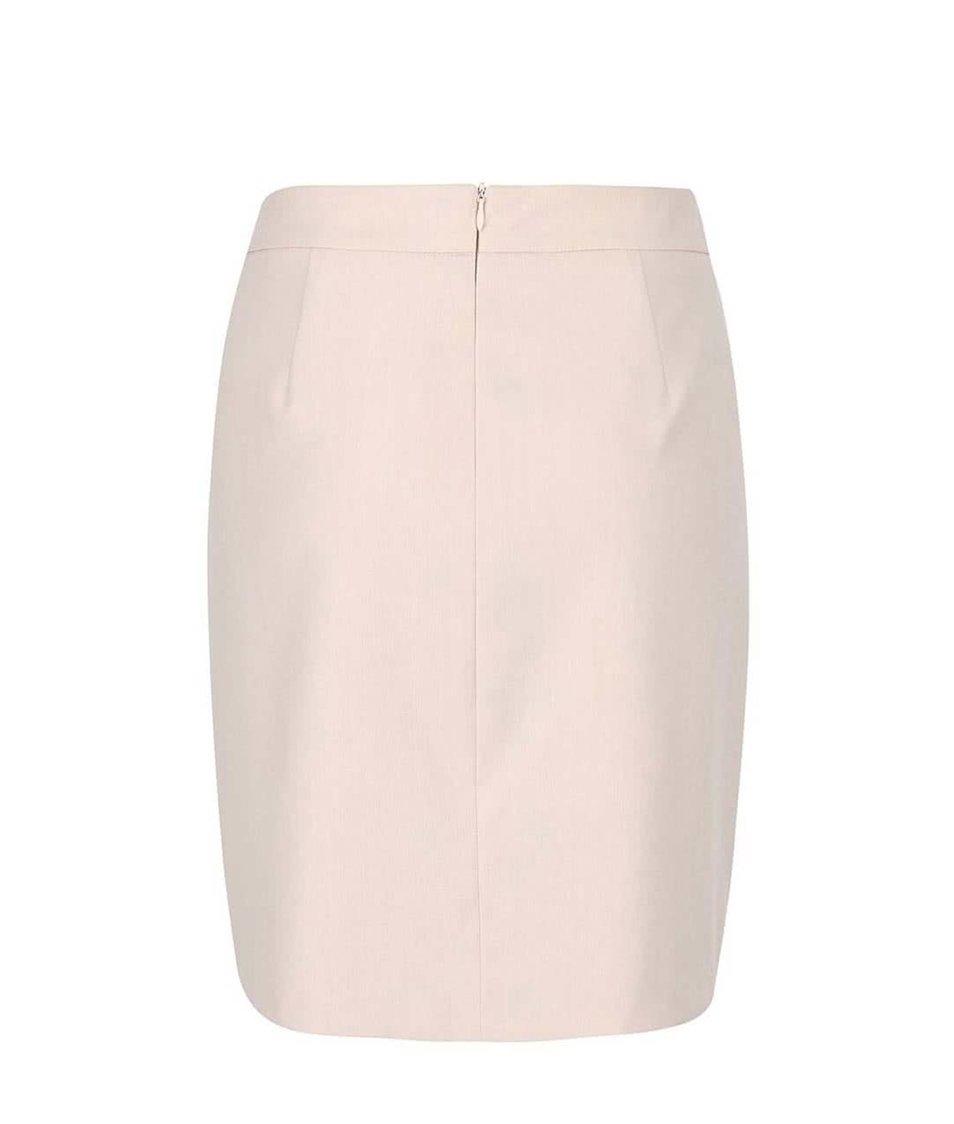 Světle růžová pouzdrová sukně Vero Moda Roro