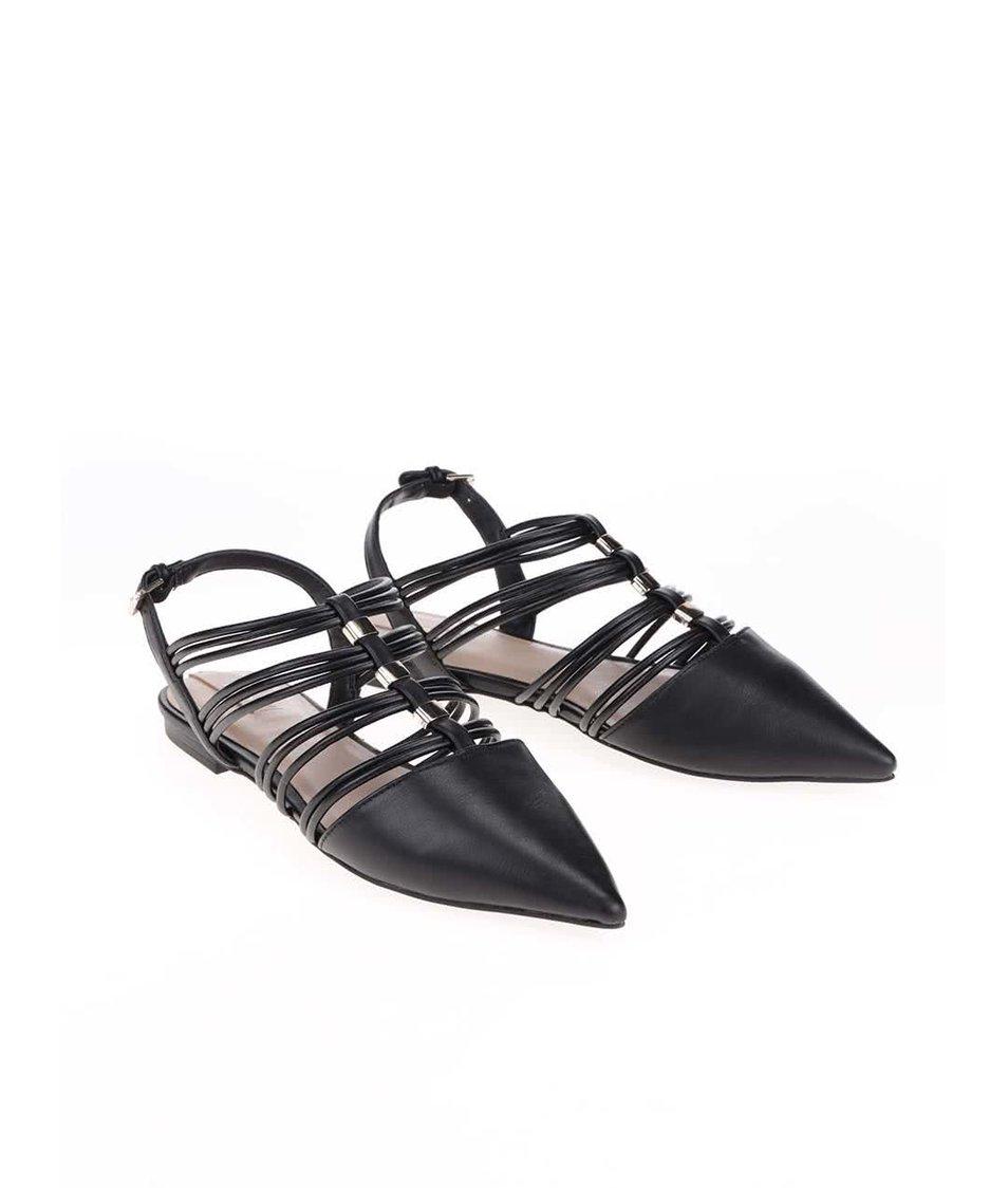 Černé sandálky ALDO Majelle