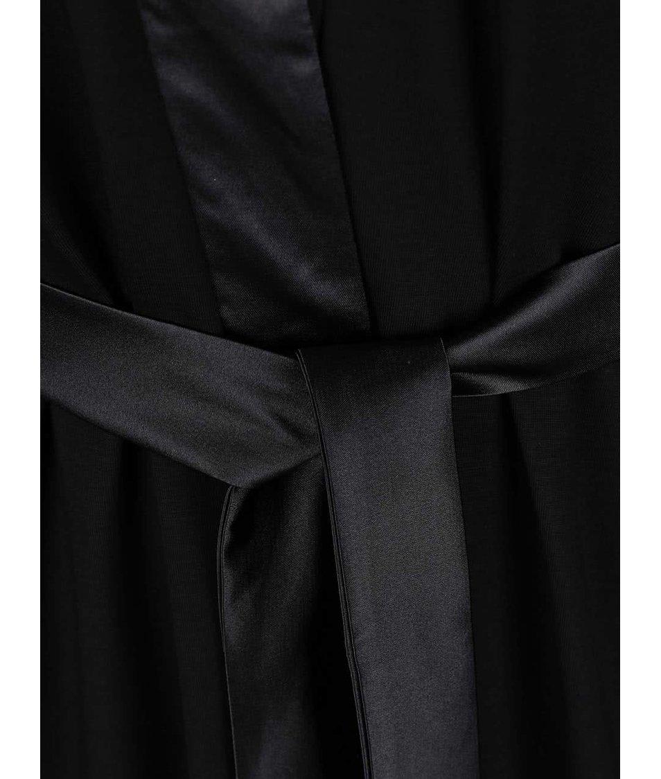 Černý lehký župan Lisca Bluebell