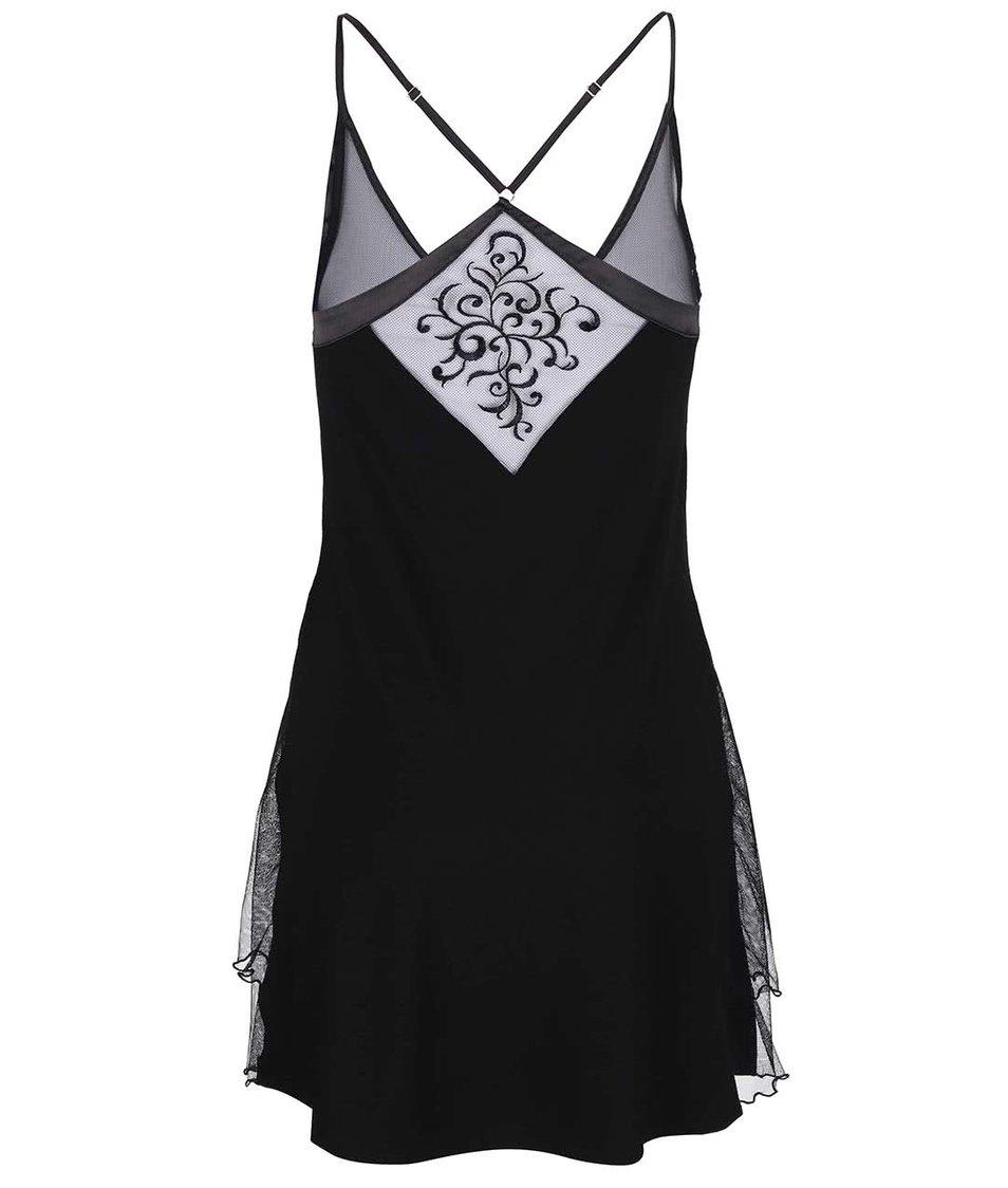 Černá noční košilka Lisca Bluebell