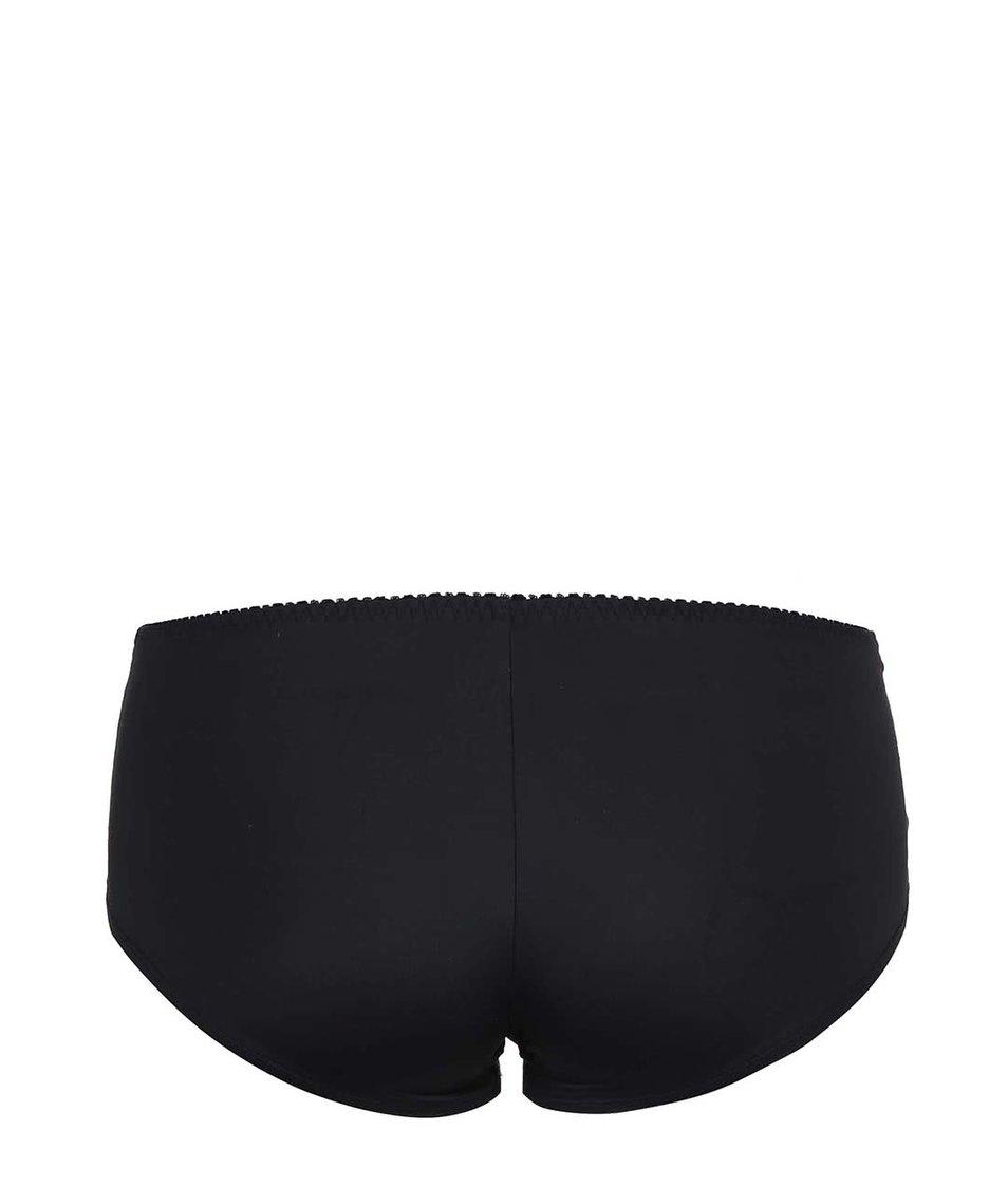 Černé krajkované kalhotky Lisca Irina