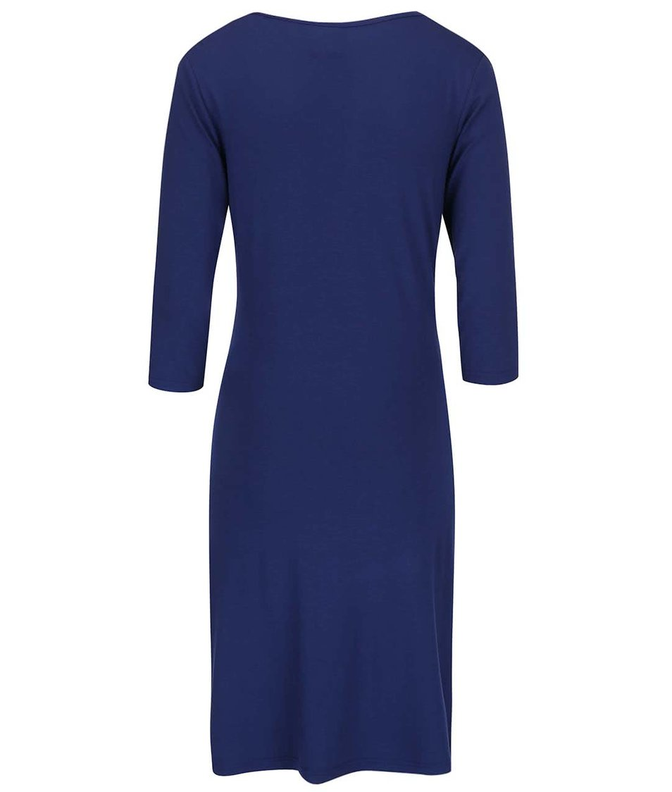 Tmavě modré těhotenské šaty Mama.licious Tess