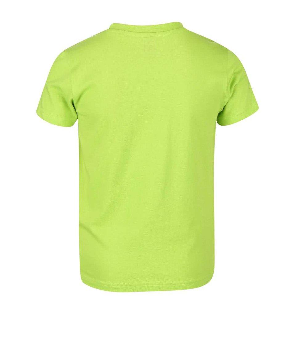 Zelené klučičí triko s potiskem LEGO Wear M-70002
