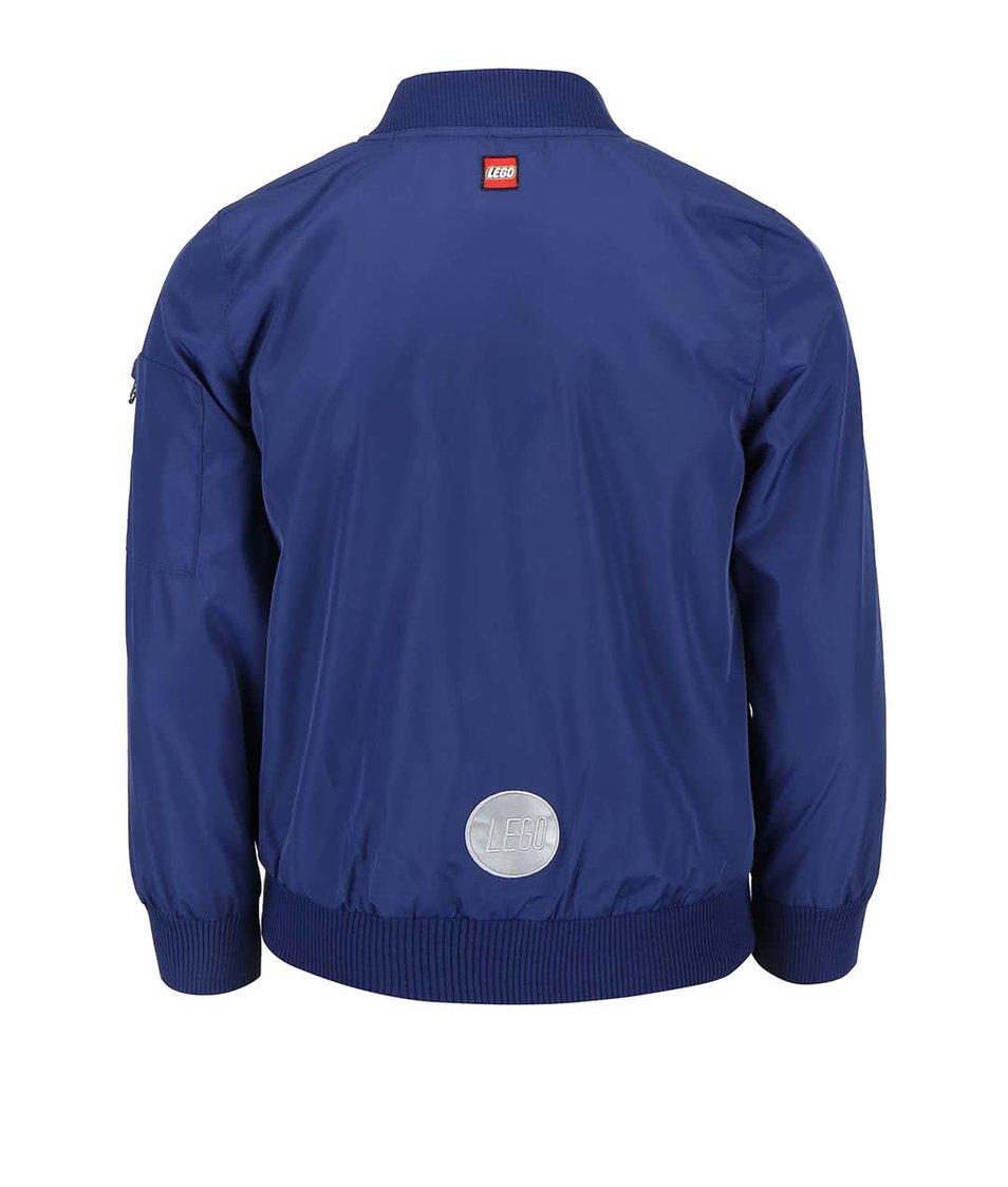 Tmavě modrá klučičí bunda LEGO Wear Jadon