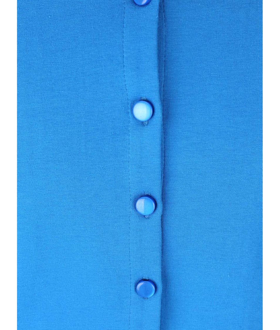 Modrý holčičí knoflíkový svetr LoveStation22 Robin