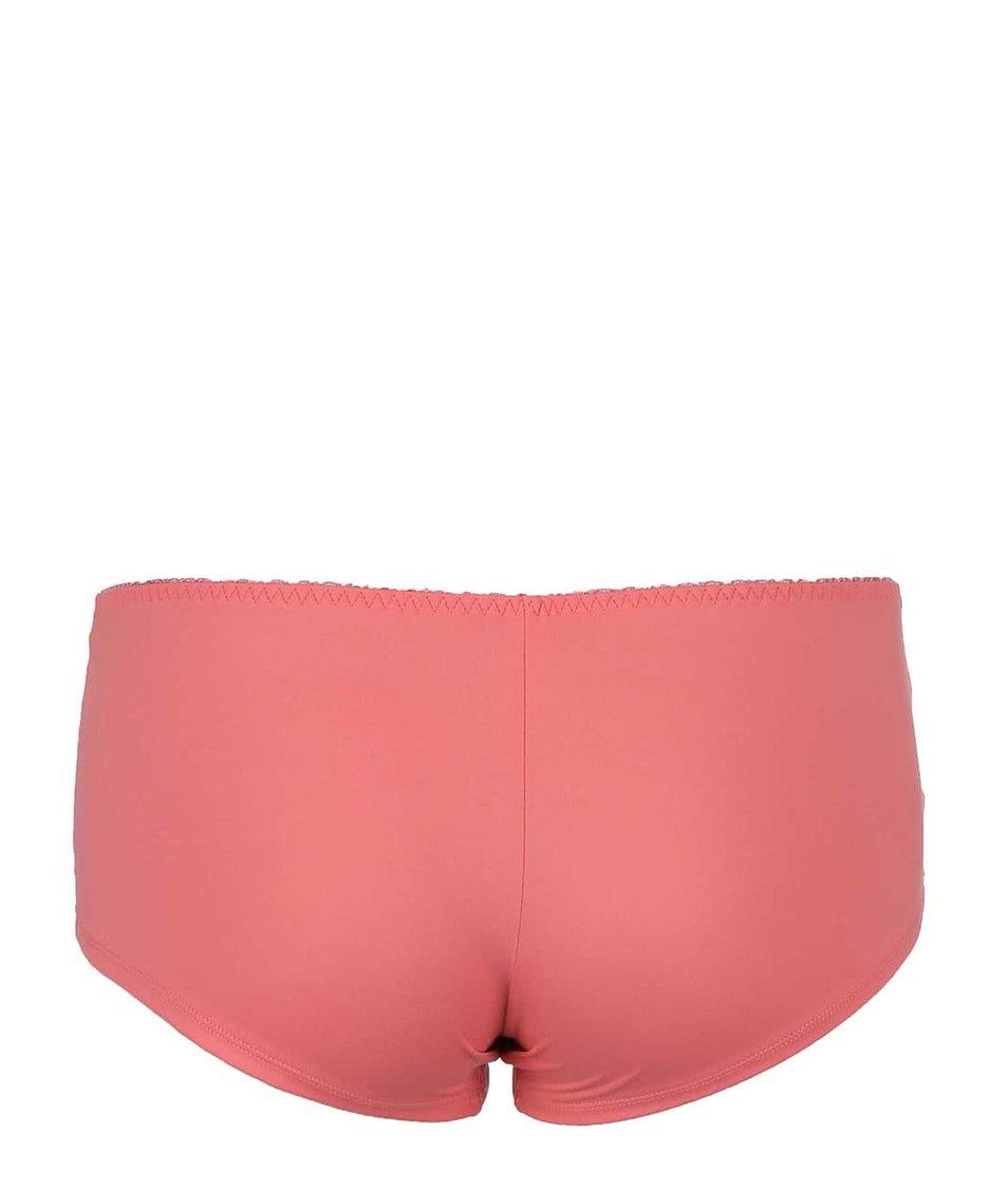Růžové krajkované kalhotky Lisca Irina