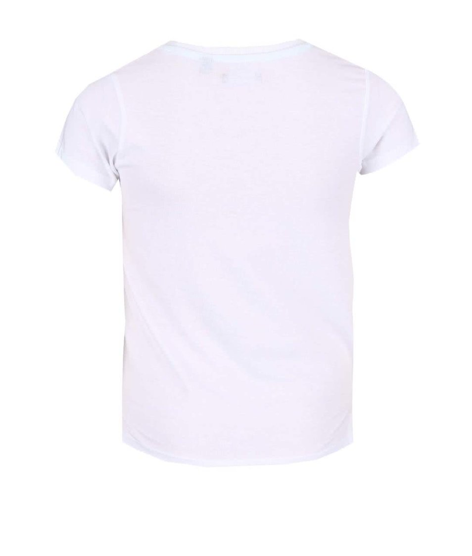 Bílé holčičí tričko s potiskem Blue Seven Fashion Gang