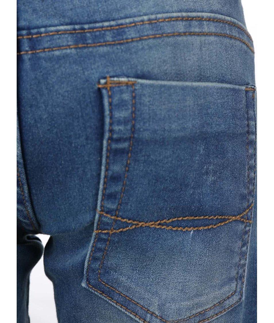 Tmavě modré klučičí džínové kraťasy Blue Seven
